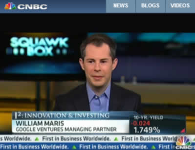 William Maris interview on CNBC